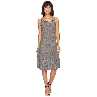 NIC+ZOE Modern Stud Dress (Grey Mix) Women