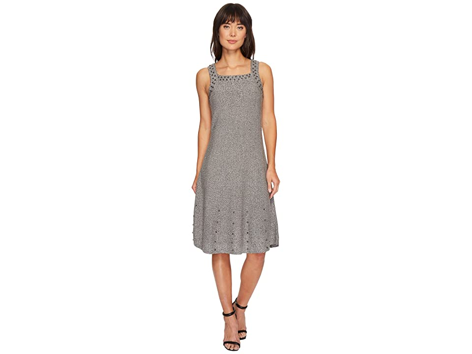 NIC+ZOE Modern Stud Dress (Grey Mix) Women