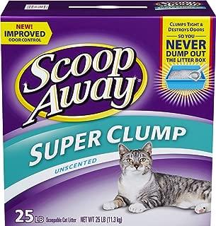 Scoop Away Unscented Super Clump Cat Litter