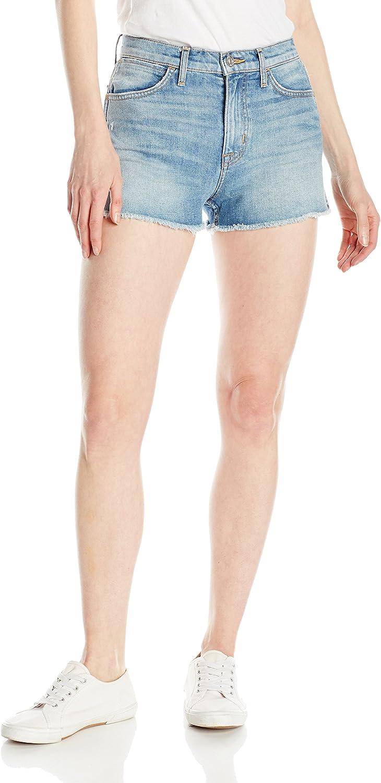 Hudson Womens Soko High Rise Cut Off 5Pocket Short Shorts