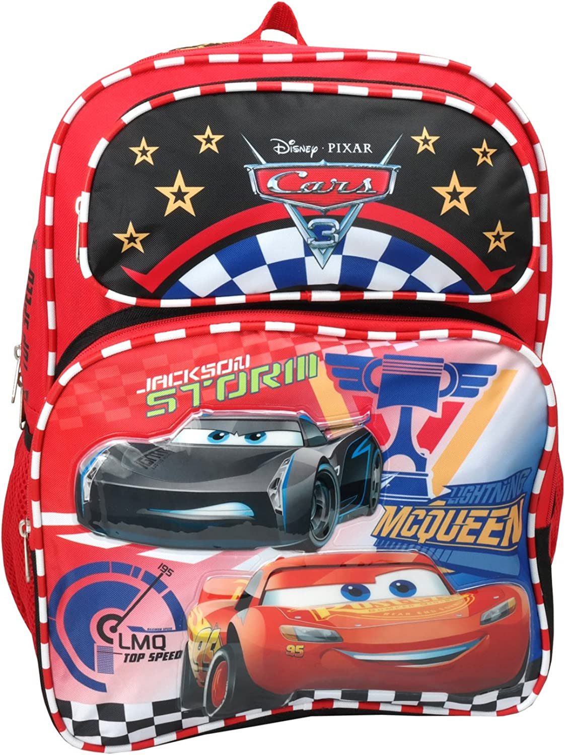 Disney Pixar Cars 3 Large 16 inches Backpack