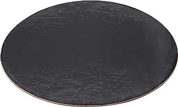 PACKAGING WPDC8B Black Kraft Circle