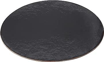 PACKAGING WPDC10B Black Kraft Circle