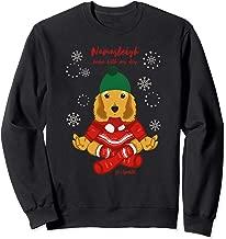 Funny Yoga Christmas Dog Shirt~ Cocker Spaniel Sweatshirt