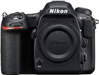 Nikon D500 - Cámara digital (20.9 MP montura F 10 fps 4K) color negro