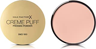 Max Factor Creme Puff, Pressed Compact Powder, 85 Light n Gay, 21 g