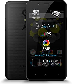 P4 Pro Black - Smartphone 4G Dual SIM, 4.2