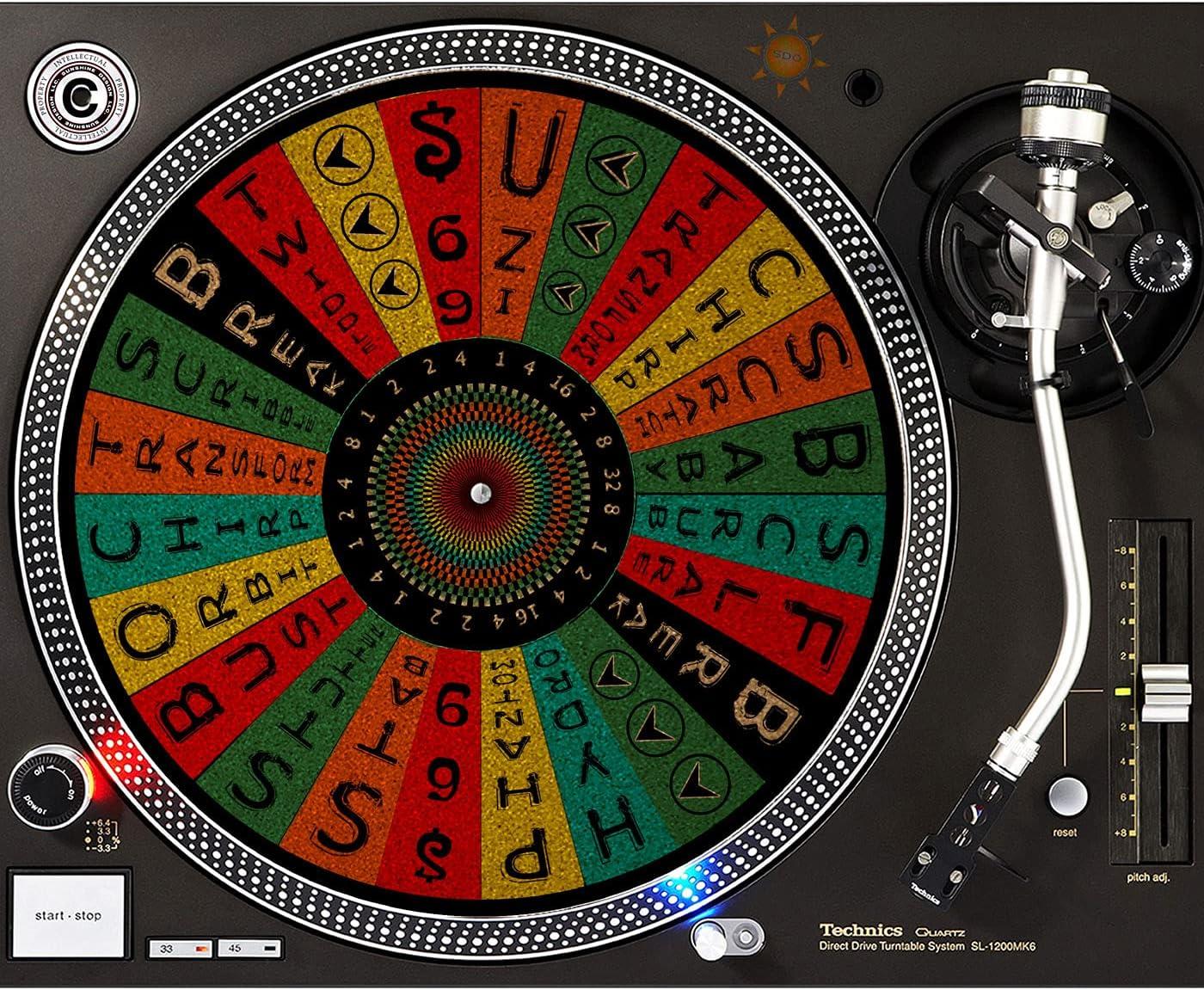 DJ Turntable Premium Cork Slipmat Wheel Fresno Mall The Scratch Max 62% OFF Spin -