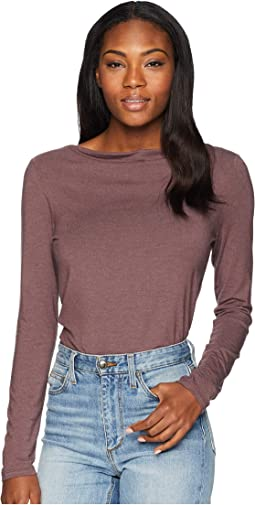 Bel Canto Long Sleeve Drape Neck