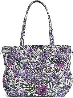 Vera Bradley Iconic Ultimate Baby Bag, Signature Cotton, Lavender Meadow