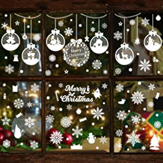 Best static cling window stickers christmas Reviews