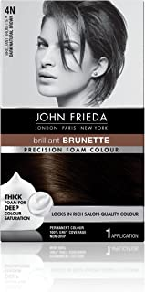 john frieda hair color dark red brown