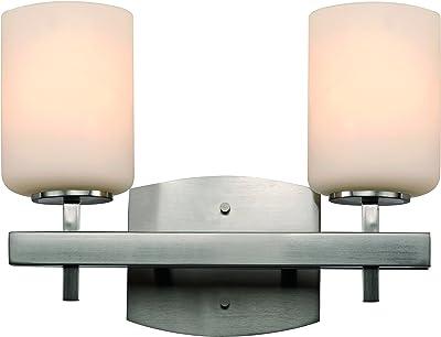 Trans Globe Lighting PL-2804 PW Edwards Indoor Pewter Contemporary Vanity Bar 30