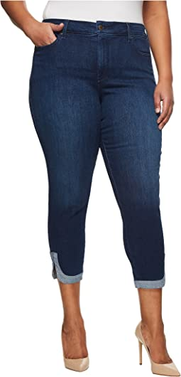 Plus Size Ami Skinny Ankle w/ Dolphin Hem in Cooper
