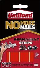 Unibond No More Nails plakstrips ultra sterke capaciteit 2,75 kg permanent 10 stuks doorschijnend