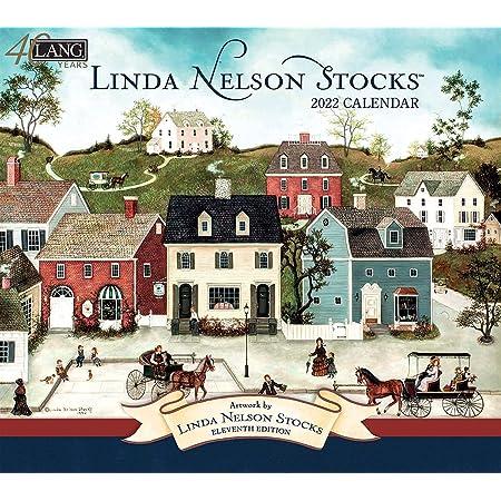LANG LINDA NELSON STOCKS 2022年 壁掛けカレンダー