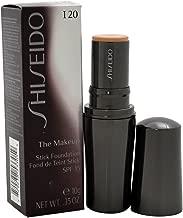 Shiseido The Makeup Stick SPF 15# I20 Natural Light Ivory Foundation for Women, 0.35 Ounce