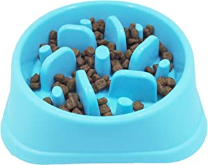 JASGOOD Slow Eating Eco-Friendly Durable Bowl for Dog Slow Feeder