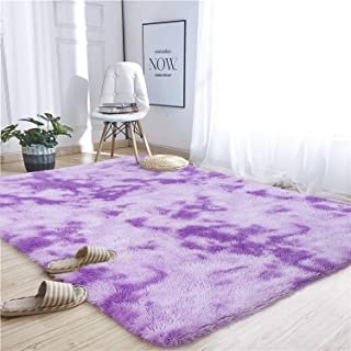 Noahas Abstract Shaggy Rug for Bedroom Ultra Soft Fluffy...