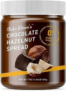 Keto Dave's Chocolate Hazelnut Spread (No Sugar)