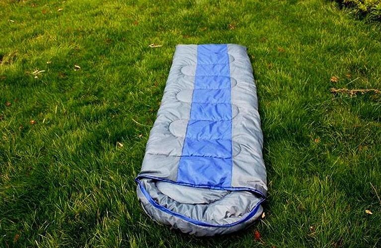 OOFWY Sacs de Couchage de Camping en Plein air de Printemps de Camping Sac de Couchage Peut être enveloppe épissés (180 + 30) X75CM (cm)