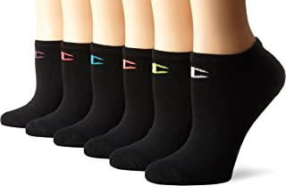 Women's Double Dry 6-Pack Performance No Show Liner Socks