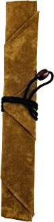 Sunlife Chopsticks Portable Cotton Wrap Carrying Bag for Travel, Picnics, Office, Camping, School (Brown)