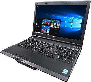 NEC ノートPC VK24/15.6型/MS Office 2019/Win 10/10キー/Core i3-4000M/HDMI/wajunのWIFI/Bluetooth/DVD-RW/4GB/256GB SSD (整備済み品)