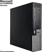 2018 DELL OPTIPLEX 9020 USFF Desktop Computer,Intel Core I5-4570s 2.9GHz up to 3.6GHz, 8GB DDR3, 120GB SSD, DVD, WIFI,HDMI,VGA,Display Port, USB 3.0, Bluetooth 4.0, Win10Pro64 (Renewed)