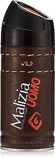 Malizia Uomo czarny i dziki dezodorant, 150 ml