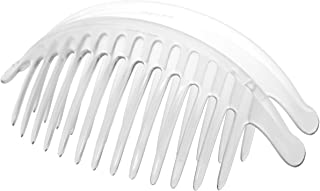 France Luxe Belle Larger Interlocking Comb, Clear, Set of 2 - An Excellent Styling Solution For Long/Thick or Curly Hair