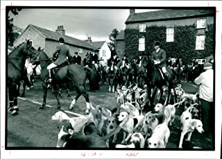 Vintage photo of Quorn Hunt