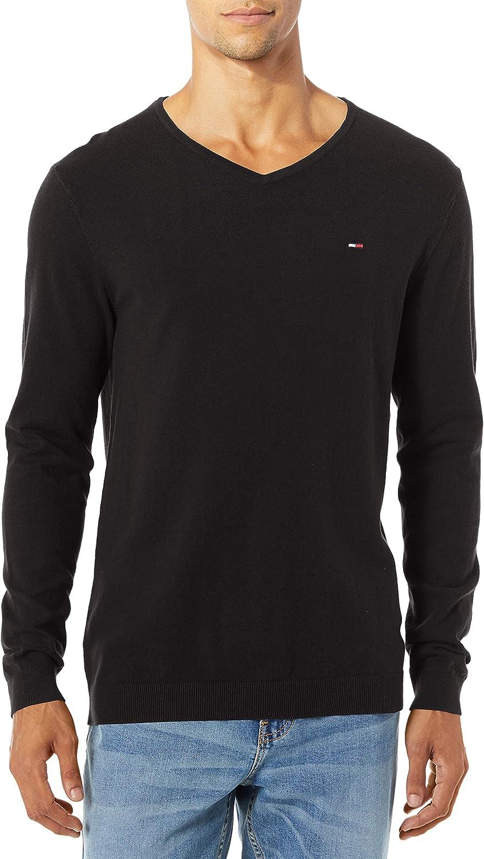 Tommy Daily bargain sale Hilfiger Men's Sweater depot Neck Original V