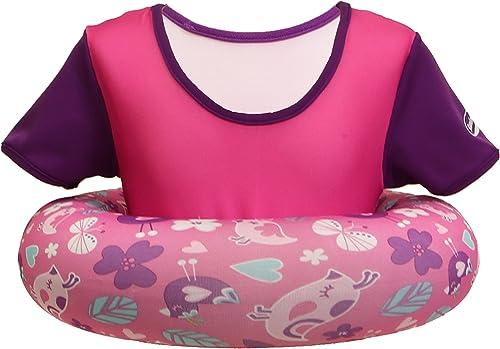 Swimways Swim chandail - Pool Secure Flotation veste for Enfants 2 - 4 Years, rose Orange with Hearts by SwimWays