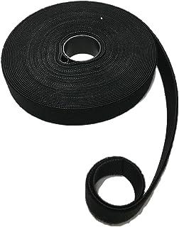 1.8 Meter Hakenband /& Flauschband Klettverschluss back to back Doppelseitig Band