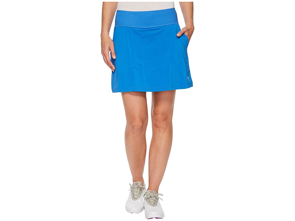 PUMA Golf PWRSHAPE Solid Knit Skirt (Nebulas Blue) Women