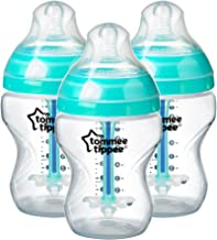 Tommee Tippee Advanced Anti-Colic Baby Bottles, 260 ml, 3
