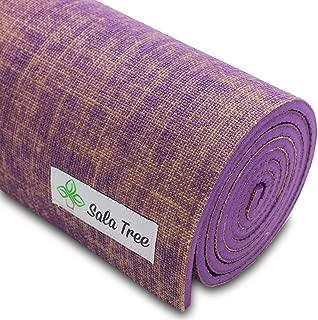 Sala Tree: Serenity - Exclusive Natural Jute Yoga Mat, Extra Long 72
