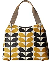 Orla Kiely - Stem Check Print Classic Zip Shoulder Bag