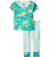 Dinosaur Land Short Sleeve Mini Pajama Set (Infant)