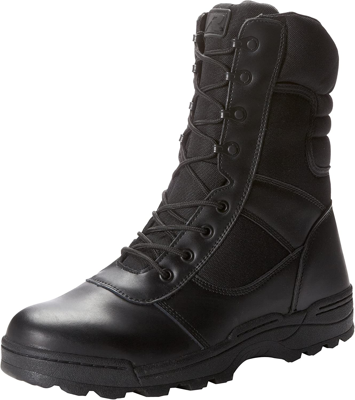 Ridge Footwear Men's Dura-Max Zipper Work Boot