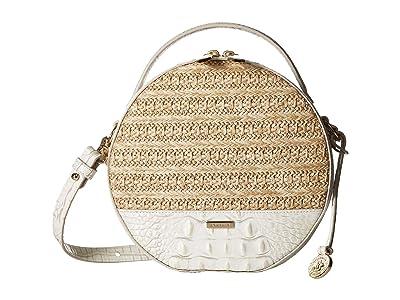 Brahmin Mantle Lane Crossbody (Pearl) Cross Body Handbags