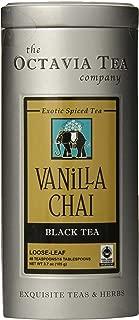 Octavia Tea Vanilla Chai (Black and Red Tea) Loose Tea, 3.7 Ounce Tin