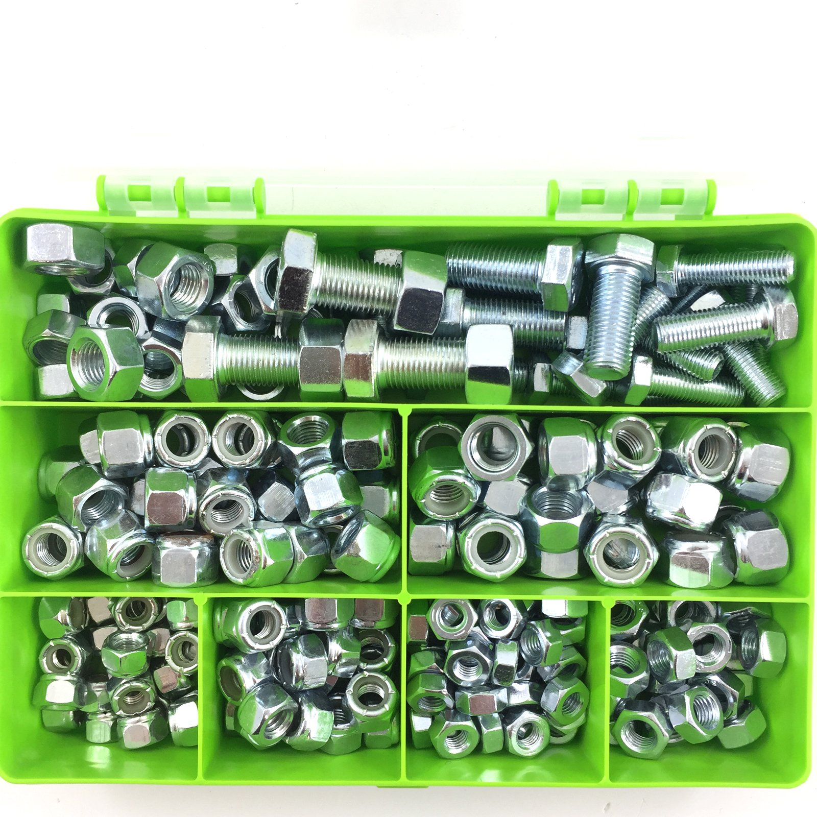 """WASHERS QTY 5 SETS NYLOCS UNF THREAD IMPERIAL BOLTS 1//2/"""" x 2 1//2/"""""""
