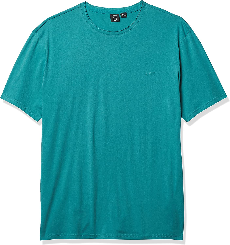 BOSS Men's Modern Fit Basic Single Jersey T-Shirt