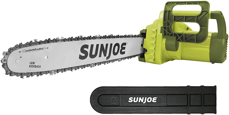 Sun Joe SWJ701E 18-inch 14.0 Amp Chain Electric Kickbac New Shipping El Paso Mall Free Saw with