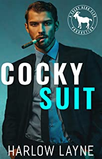 Cocky Suit: A Hero Club Novel (English Edition)