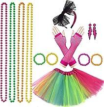 80/'S 1980/'S FANCY DRESS NEON WRISTBANDS NEON  FANCY DRESS ACCESSORIES X6 COLOURS