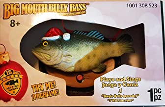 Big Mouth Billy Bass Christmas Tree Ornament Plays and Sings Jingle Bells and I Will Survive