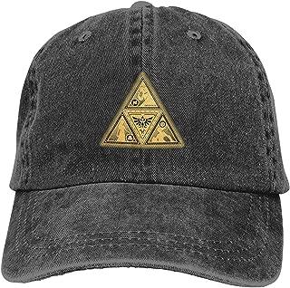 Legend of Zelda Adjustable Dad Hat Denim Unisex Snapback Baseball Cap Casquette Cap